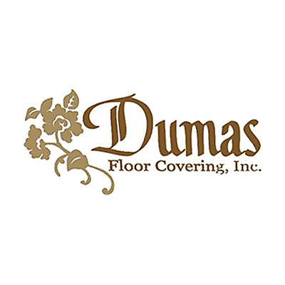 Logo for Dumas Floor Company a sponsor for the 2020 GMCBA  Bass fishing Tournament.
