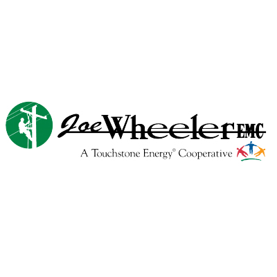 Logo for  Joe Wheeler a sponsor for the 2020 GMCBA  Bass fishing Tournament.