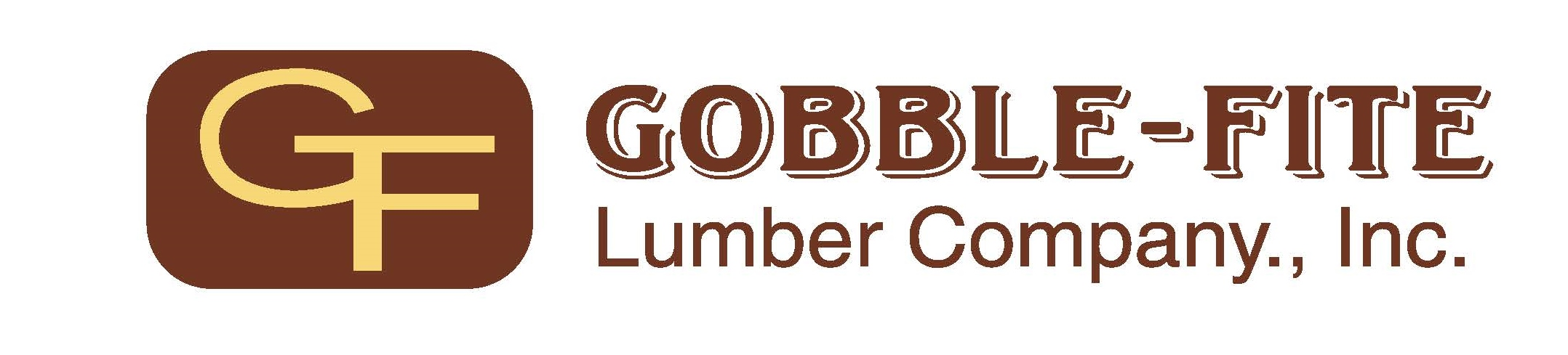 Logo for Gobble-Fite Lumber Company a sponsor for the 2020 GMCBA Home and Garden Show